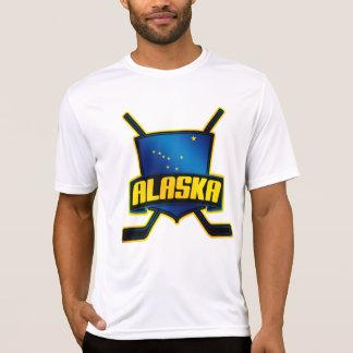 Alaska Hockey Flag Logo T-Shirt