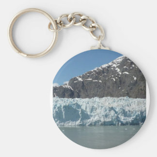 Alaska Ice Basic Round Button Keychain