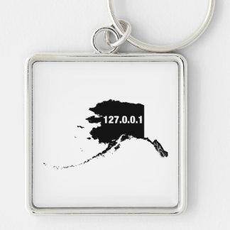 Alaska Is Home Programmer Keychain