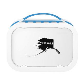 Alaska Is Home Programmer Lunch Box