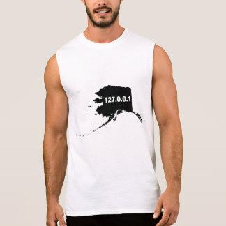 Alaska Is Home Programmer Sleeveless Shirt