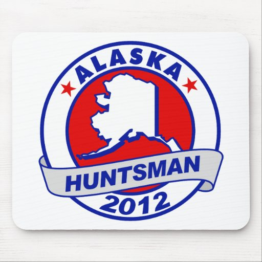 Alaska Jon Huntsman Mousepad