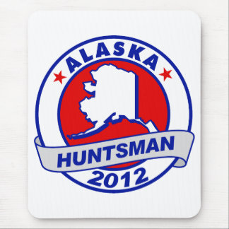 Alaska Jon Huntsman Mousepads
