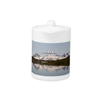 Alaska: Lake reflections of mountains