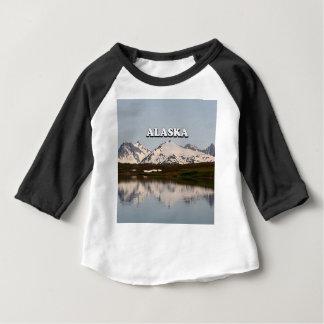 Alaska: Lake reflections of mountains Baby T-Shirt