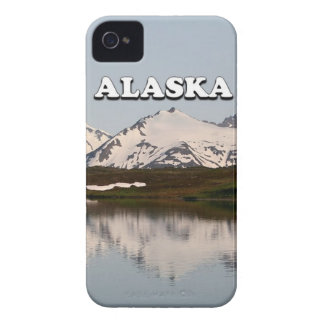 Alaska: Lake reflections of mountains Case-Mate iPhone 4 Case