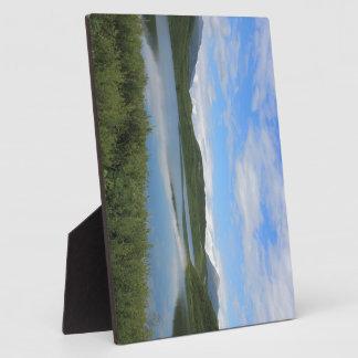Alaska landscape plaque