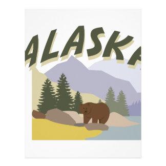 Alaska Letterhead Design