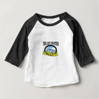 alaska logo art baby T-Shirt
