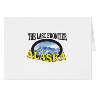 alaska logo art card