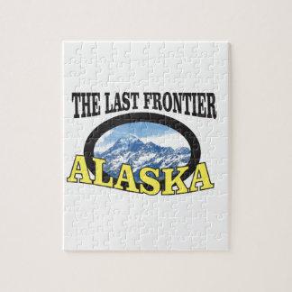alaska logo art jigsaw puzzle