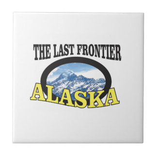 alaska logo art tile