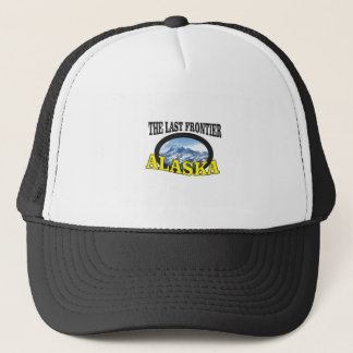 alaska logo art trucker hat