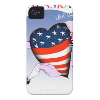 alaska loud and proud, tony fernandes iPhone 4 Case-Mate case