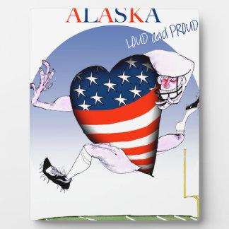 alaska loud and proud, tony fernandes plaque