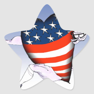 alaska loud and proud, tony fernandes star sticker