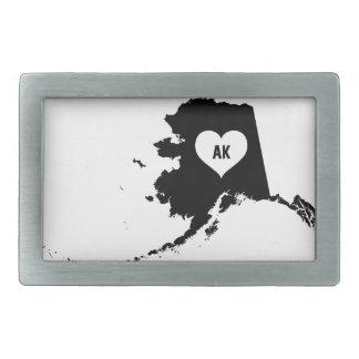 Alaska Love Belt Buckle