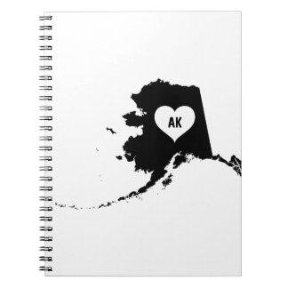Alaska Love Notebooks