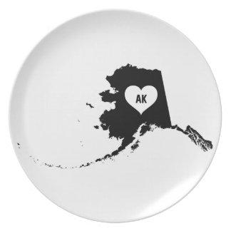 Alaska Love Plate