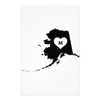 Alaska Love Stationery