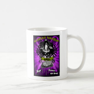 Alaska-Makeup-queen-postcard-FRONT---purple-grunge Coffee Mug