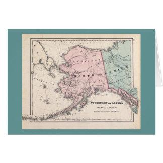 Alaska Map/Sourdough card