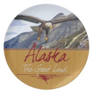 Alaska Melamine Plate