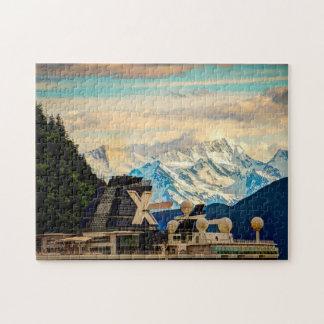Alaska Mendenhall Glacier. Jigsaw Puzzle