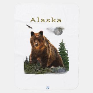 Alaska merchandise baby blanket