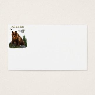 Alaska merchandise business card