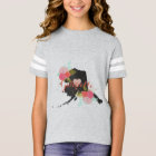Alaska Monogram State Chalkboard Floral & Heart T-Shirt