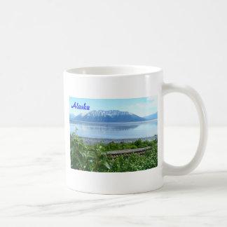 Alaska Mountain along Turnagain Arm Basic White Mug