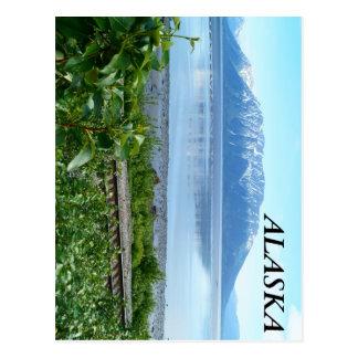 Alaska Mountain along Turnagain Arm Postcard