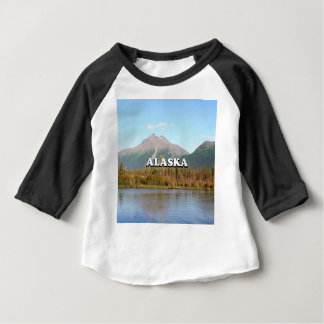 Alaska: mountains, forest and river, USA Baby T-Shirt