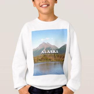 Alaska: mountains, forest and river, USA Sweatshirt