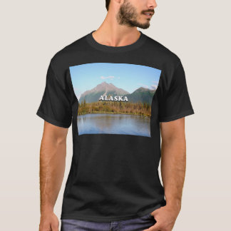 Alaska: mountains, forest and river, USA T-Shirt