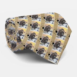 Alaska Muskox Postage Stamp Souvenir Tie
