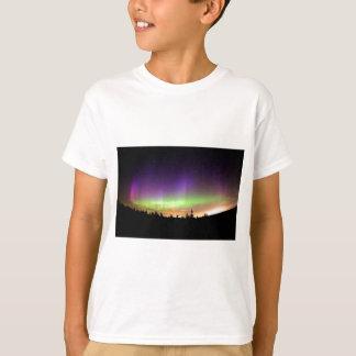 Alaska Nature Country Sky Northern Lights Colorful T-Shirt