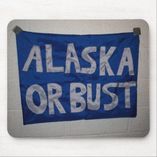 Alaska or Bust mousepad
