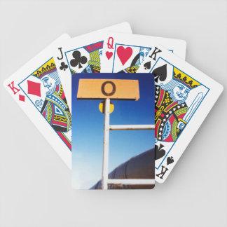 Alaska Pipeline Mile Zero Photo Bicycle Playing Cards