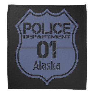 Alaska Police Department Shield 01 Kerchief
