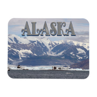 Alaska Prince William Sound Chugach Mountain Magnet