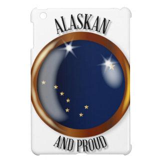 Alaska Proud Flag Button iPad Mini Cases