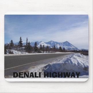 alaska range 1, DENALI HIGHWAY Mouse Pad