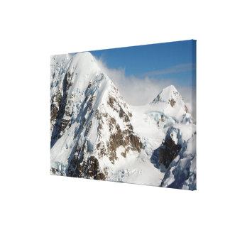 Alaska Range mountains, Alaska, USA Canvas Print