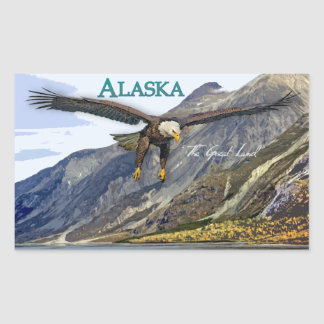 Alaska Rectangle Sticker