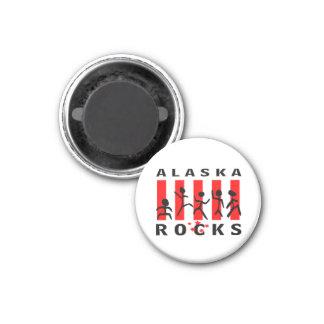 Alaska Rocks Magnet
