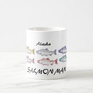ALASKA SALMON MAN COFFEE CUP