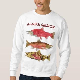 Alaska Salmon Sweatshirt