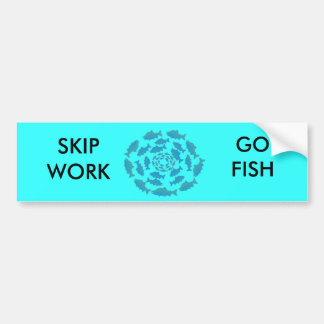 Alaska Salmon Wear Bumper Sticker